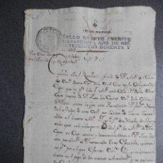 Manuscritos antiguos: MANUSCRITO AÑO 1788 FISCAL 4º ILLORA GRANADA EMBARGO DE UNA CASA BONITA LETRA. Lote 271922858