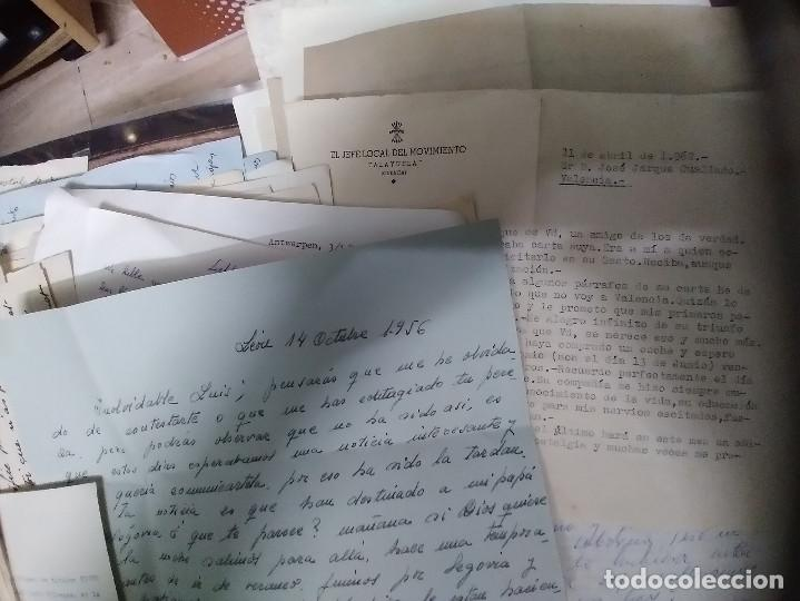 Manuscritos antiguos: LOTE 175 CARTAS MANUSCRITAS - Foto 2 - 271993108