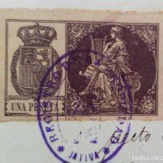 Manuscritos antiguos: 3 SELLOS DE 11VA CLASE 1901 - 1903 MAS 5 TIMBRE MOVIL 1901 - 1903 EN PAPEL SELLADO. Lote 274012538