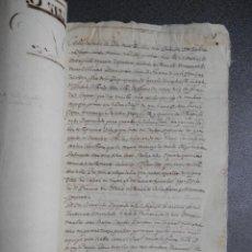 Manuscritos antiguos: MANUSCRITO AÑO 1643 TUDELA NAVARRA NOMBRAMIENTO HEREDERA. Lote 274026273