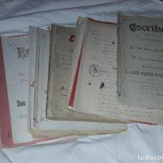 Manuscritos antiguos: EXCEPCIONAL LOTE DE 15 ANTIGUAS ESCRITURAS Y DOCUMENTOS DE COMPRA Y VENTA AÑO 1900 A 1937. Lote 276590498