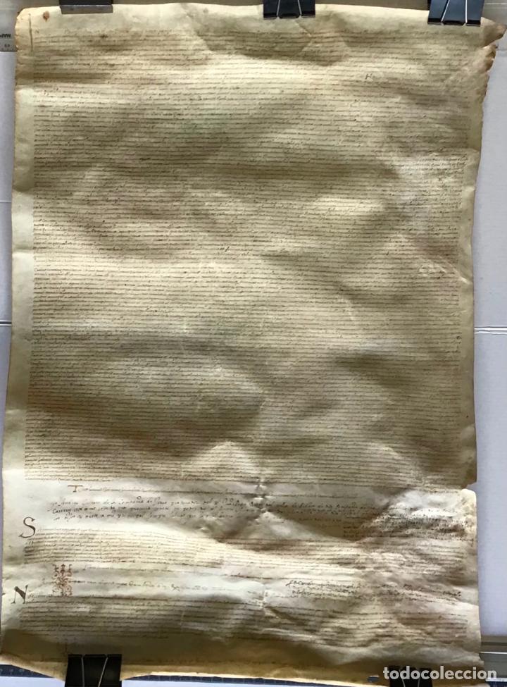 Manuscritos antiguos: [VENTA DE CENSAL.] - [MANUSCRITO.] 1583. Santa Maria del Corcó - Tavertet - Casserres - Foto 2 - 276644928