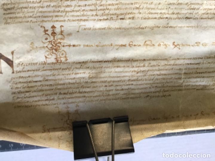 Manuscritos antiguos: [VENTA DE CENSAL.] - [MANUSCRITO.] 1583. Santa Maria del Corcó - Tavertet - Casserres - Foto 7 - 276644928