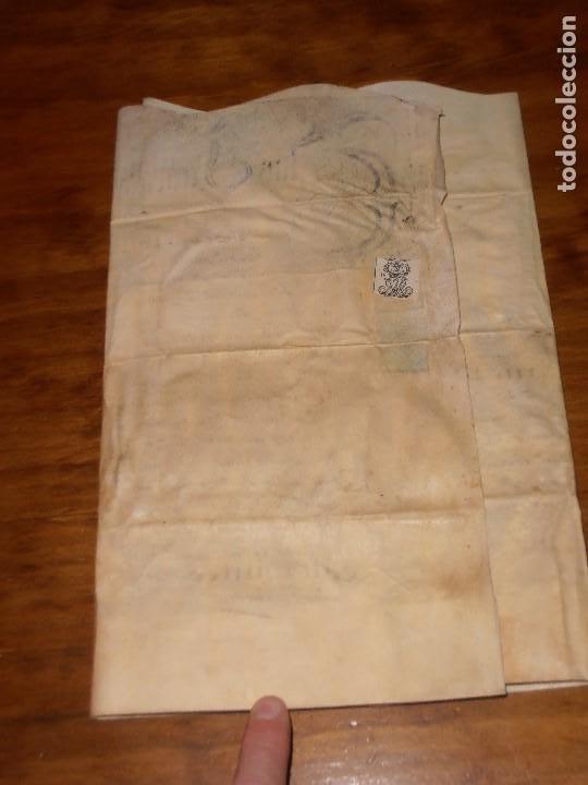Manuscritos antiguos: MANUSCRITO INGLES EN PERGAMINO. 1710. - Foto 15 - 276909328
