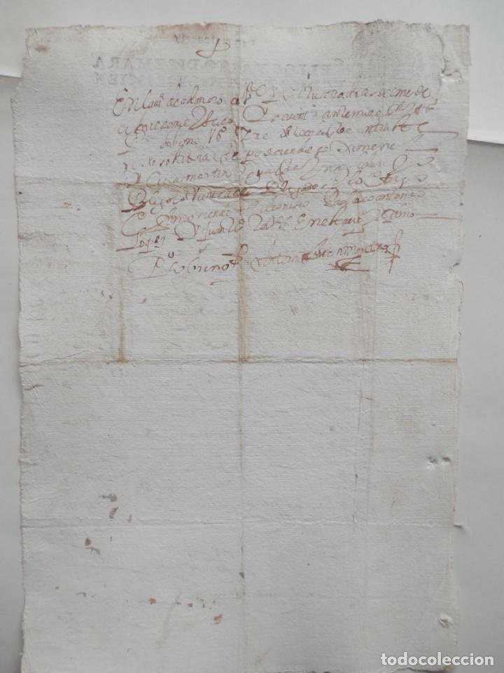 Manuscritos antiguos: MANUSCRITO AÑO 1660 FISCALES 4ºS ADANERO ÁVILA CONCEJO DE LA MESTA ACUERDO - Foto 2 - 277165598