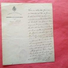 Manuscrits anciens: SORIHUELA DE GUADALIMAR.-ALCALDIA CONSTITUCIONAL.-MANUSCRITO.-AÑO 1918.. Lote 278487023