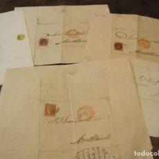 Manuscritos antiguos: JUAN FARRIOL Y VIVES, PROCURADOR DEL JUZGADO DE MONTBLANC, CORRESPONDENCIA 1850-1852. 120 CARTAS. Lote 280841748