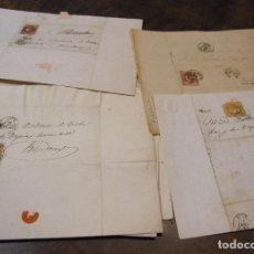 Manuscritos antiguos: BALTASAR DE TODA I DE TAPIES (RIUDOMS 1786-1867). 20 CARTAS DIRIGIDAS A... 1851 - 1865. Lote 280842238