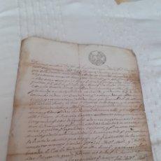 Manuscritos antiguos: CARTA MANUSCRITA VENTA DE FINCA EN LUANCO CONCEJO DE GOZON ASTURIAS ,FECHADA EL 22DEL 12 DE 1848.. Lote 281801278