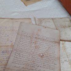 Manuscritos antiguos: LOTE 3 CARTAS MANUSCRITAS DEL AÑO1848,PARROQUIA DE PIEDELORO ,CARREÑO,CANDAS ASTURIAS. Lote 281802628
