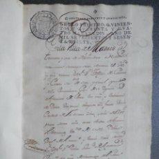 Manuscritos antiguos: EXTENSO MANUSCRITO AÑO 1767 FISCAL 1º RARO Y LUJO MADRID VENTA CASAS CALLE HUMILLADERO 167 PÁGS. Lote 281929613