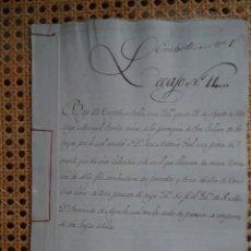 Manoscritti antichi: CORUÑA SAN JULIÁN DE SOÑEIRO, VENTA PIEZA DE MONTE, 1811, 4 PAGS. Lote 286228508