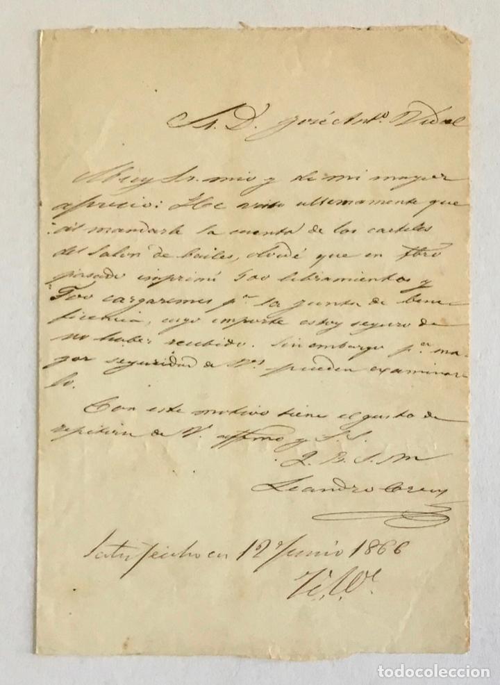 Manuscritos antiguos: [DOCUMENTACIÓN VARIA SOBRE VILANOVA I LA GELTRÚ]. - [MANUSCRITO.] 1866-1936 - Foto 3 - 286799168