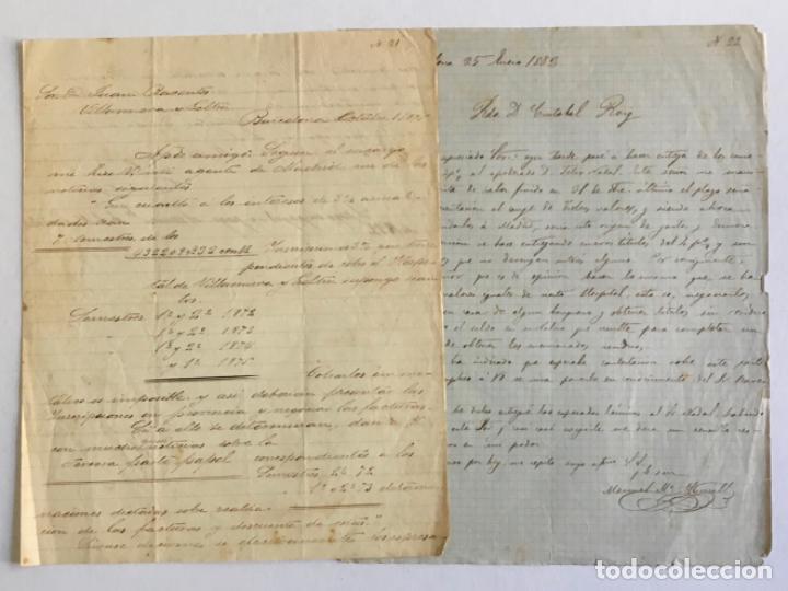 Manuscritos antiguos: [DOCUMENTACIÓN VARIA SOBRE VILANOVA I LA GELTRÚ]. - [MANUSCRITO.] 1866-1936 - Foto 5 - 286799168