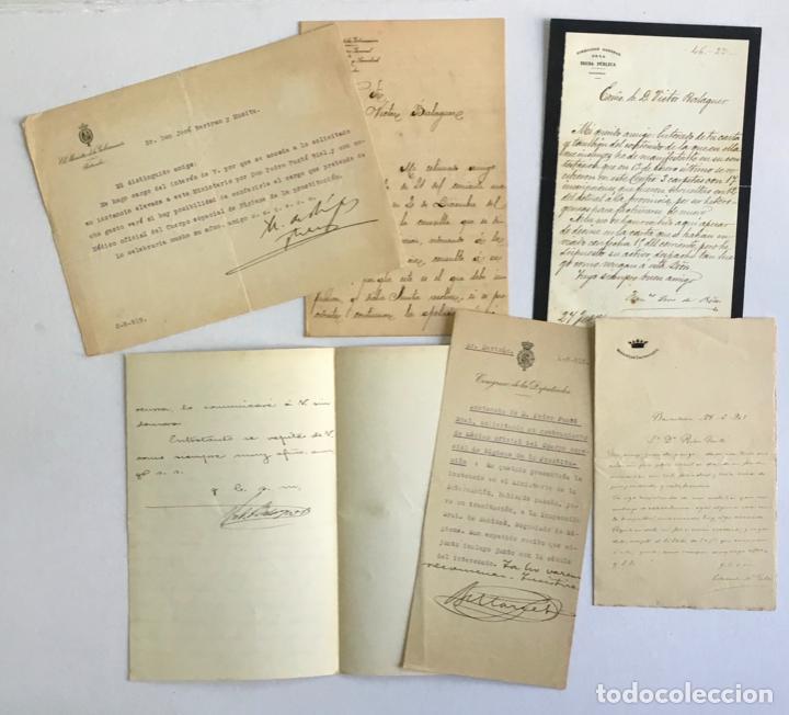 Manuscritos antiguos: [DOCUMENTACIÓN VARIA SOBRE VILANOVA I LA GELTRÚ]. - [MANUSCRITO.] 1866-1936 - Foto 7 - 286799168