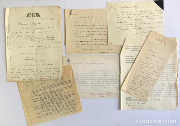 Manuscritos antiguos: [DOCUMENTACIÓN VARIA SOBRE VILANOVA I LA GELTRÚ]. - [MANUSCRITO.] 1866-1936 - Foto 8 - 286799168