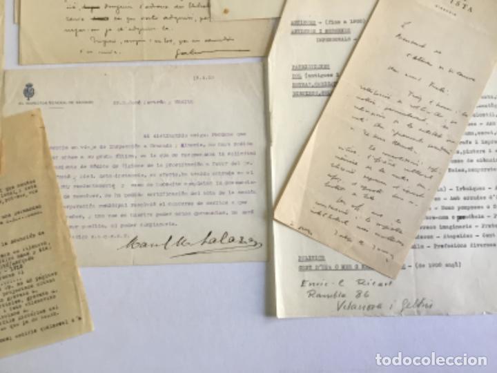 Manuscritos antiguos: [DOCUMENTACIÓN VARIA SOBRE VILANOVA I LA GELTRÚ]. - [MANUSCRITO.] 1866-1936 - Foto 9 - 286799168