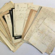 Manuscritos antiguos: [DOCUMENTACIÓN VARIA SOBRE VILANOVA I LA GELTRÚ]. - [MANUSCRITO.] 1866-1936. Lote 286799168