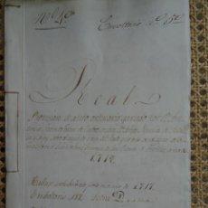 Manuscrits anciens: CORUÑA, FEANS, ELVIÑA, PLEITO SOBRE AGUA DE RIEGO, 1718, 22 PAGS. Lote 286838048