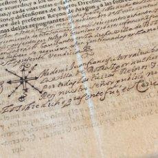 Manuscritos antiguos: BOLEA, HUESCA.1682. VENTA DE UNA VIÑA. IMPRESO Y MANUSCRITO. FIRMA NOTARIO DE BOLEA.. Lote 286959008