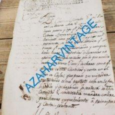Manuscritos antiguos: SEVILLA, 1817, RECLAMACION DE UNA DEUDA POR PARTE DE UNA COMERCIANTE DE TRIANA, 2 PAGINAS. Lote 287684773