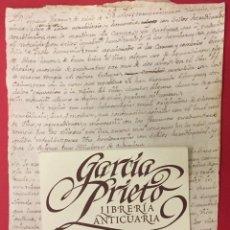 Manuscritos antiguos: MANUSCRITO SIGLO XIX DE MEDICINA, DIAGNOSTICO, YA CANCER YA CARBUNCO Y SEGUIMIENTO. Lote 287903458