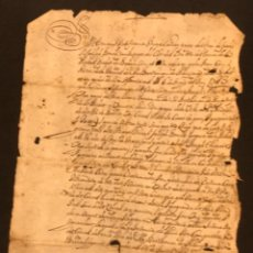Manuscritos antiguos: MANUSCRITO DE 1723 VENTA ENTRE PAYESES LA BISBAL DEL PENEDÈS, MASLLORENÇ ALBINYANA. VER FOTOS.. Lote 288206503