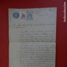 Manuscrits anciens: DOCUMENTO MANUSCRITO DE LIQUIDACIÓN DEL IMPUESTO DE DERECHOS REALES-ÁLCALA DE GUADAÍRA 1932 - SELLO. Lote 288359808