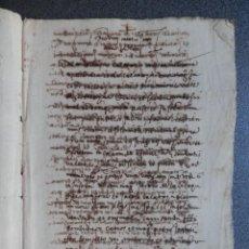Manuscritos antiguos: MANUSCRITO AÑO 1631 BOCAIRENTE VALENCIA PROCURA (PODER NOTARIAL) 7 PÁGS. Lote 288562773