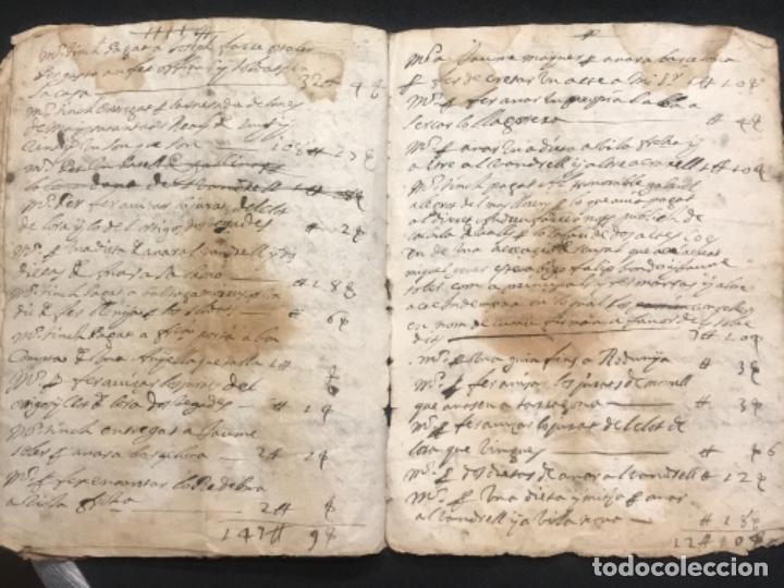 Manuscritos antiguos: MANUSCRITO LEGAJO DE 1635 PAGOS DE UN PAYES DE LA BISBAL DEL PENEDÈS.TARRAGONA. - Foto 10 - 288684713