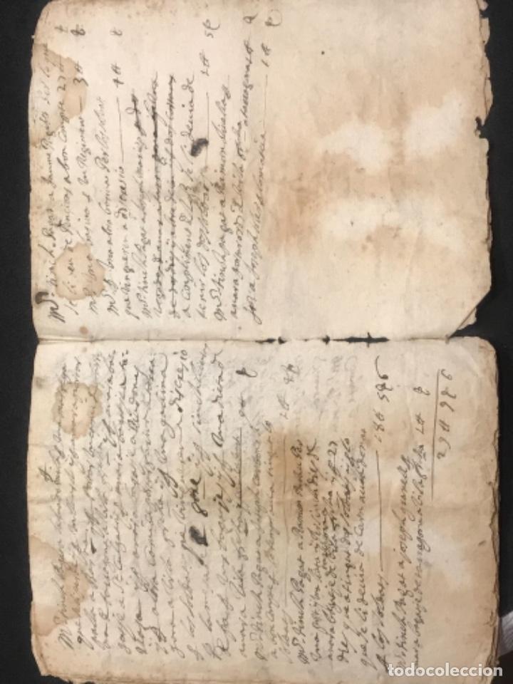 Manuscritos antiguos: MANUSCRITO LEGAJO DE 1635 PAGOS DE UN PAYES DE LA BISBAL DEL PENEDÈS.TARRAGONA. - Foto 12 - 288684713