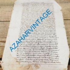 Manuscritos antiguos: VALLADOLID, 1611,RECLAMACION DE DEUDAS POR PARTE DE UN VENDEDOR DE LIBROS, 2 PAGINAS, RARO. Lote 288989688