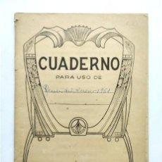 Manuscritos antiguos: ANTIGUA LIBRETA MANUSCRITA CON RECETAS DE COCINA. LECUMBERRI 1951. Lote 290961983