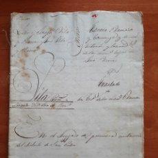 Manuscritos antiguos: 1848 CUESTIÓN HEREDITARIA - VARIOS DOCUMENTOS - BARCELONA. Lote 291886163