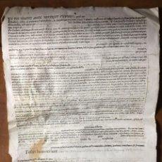 Manuscritos antiguos: CIUTAT DE VALENCIA Y GENERALITAT. EMISIÓN DE DEUDA DE LA CIUDAD DE VALENCIA - 1673. Lote 293317428