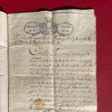 Manuscritos antiguos: 1826 - COPIA DEL TESTAMENT DE JOSEP FARRE PROPIETARI DEL MAS DE TORRAS EN FOIX. Lote 293791523