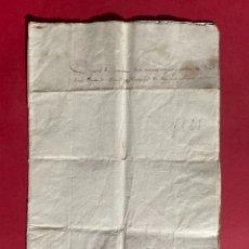 Manuscritos antiguos: 1825 - INVENTARI DE TRASTOS, ALAJAS Y ROPAS DE JOSEPH FARRE PAGES DEL TERME DE FOIX. Lote 293795708