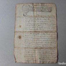 Manuscritos antiguos: SELLO SEGUNDO, 1798. Lote 294037068