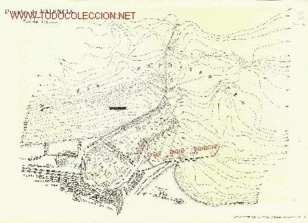 PLANO DEL PUERTO DE VALENCIA. ESCALA 1:16.000. IMPRESO HACIA 1925. V (Coleccionismo - Mapas - Mapas actuales (desde siglo XIX))