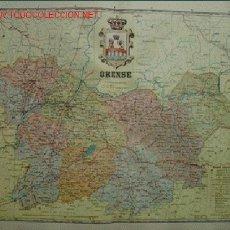 Mapas contemporáneos: MAPA: ORENSE. Lote 26327234