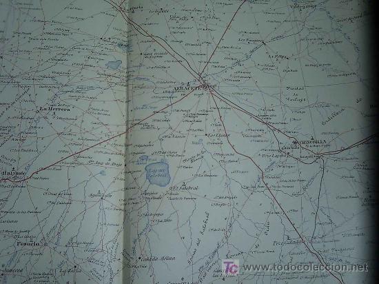 MAPA MILITAR ITINERARIO DE ESPAÑA HOJA 66 / ALBACETE (Coleccionismo - Mapas - Mapas actuales (desde siglo XIX))