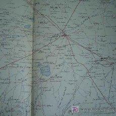 Mapas contemporáneos: MAPA MILITAR ITINERARIO DE ESPAÑA HOJA 66 / ALBACETE. Lote 26576026
