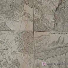 Mapas contemporáneos: ZX CIUDADES DE POLONIA * CIRCA 1850 * MAPA GRABADO AL ACERO * . Lote 24030077