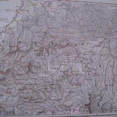 Mapas contemporáneos: SOUABE BAVIERA ** ESTRASBURGO A MUNICH * ALEMANIA ** CIRCA 1850 * MAPA GRABADO AL ACERO . Lote 24030073