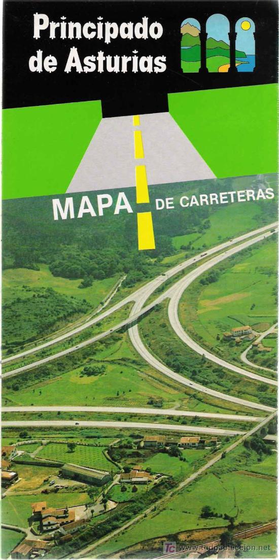 Mapa De Carreteras Del Principado De Asturias  U2013