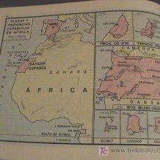 Mapas contemporáneos: ANTIGUO ATLAS UNIVERSAL, ED. ELVIVES - AÑO 1964 - CON 31 PP. MIDE 17X22 CM - PLAZAS Y PROVINCIAS ESP. Lote 26304994