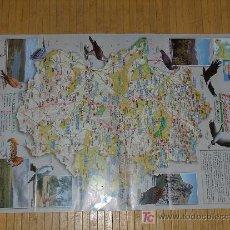 Mapas contemporáneos: MAPA PLANO DE EXTREMADURA. Lote 4103236