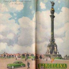 Mapas contemporáneos: PLANO – GUÍA DE BARCELONA, AÑOS 40-50.. Lote 25167615