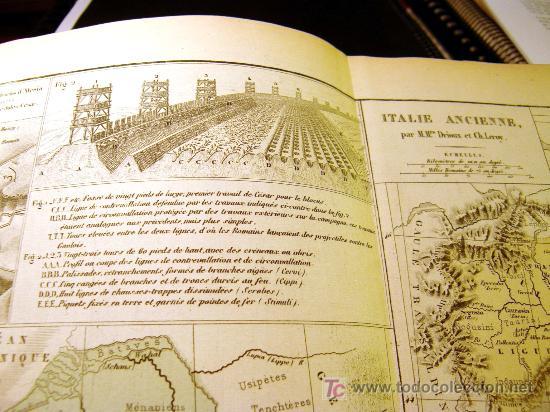 """Mapas contemporáneos: ATLAS CLASSIQUE DE GÉOGRAPHIE ANCIENNE ET MODERNE 1877 DE DRIOUX ET CH. LEROY"""" , - Foto 2 - 26931885"""