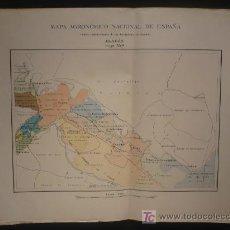 Mapas contemporáneos: MAPA AGRONOMICO NACIONAL. ARAGON- HOJA 354 1950. Lote 9941079